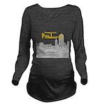 Pittsburgh Long Sleeve Maternity T-Shirt