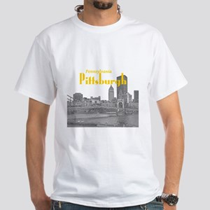 Pittsburgh White T-Shirt