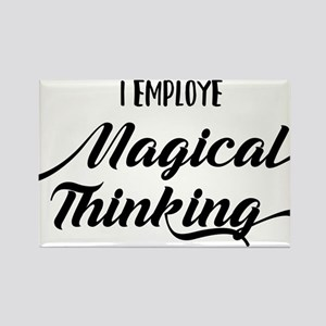 I Employe Magical Thinking HR Design Magnets