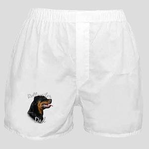 Rottweiler Dad2 Boxer Shorts