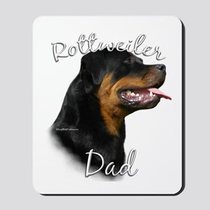 Rottweiler Dad2 Mousepad