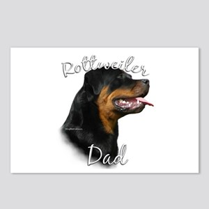 Rottweiler Dad2 Postcards (Package of 8)