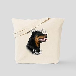 Rottweiler Dad2 Tote Bag