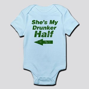 Vintage Shes my drunker Body Suit