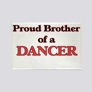 Proud Brother of a Dancer Magnets