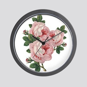 Roses are gorgeous Wall Clock