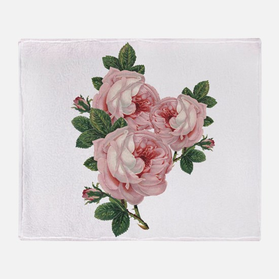 Roses Are Gorgeous Throw Blanket