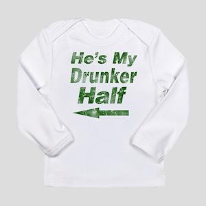 Vintage hes my drunker Long Sleeve T-Shirt