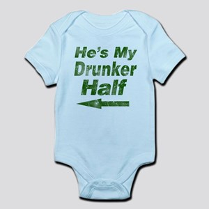 Vintage hes my drunker Body Suit