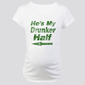 Vintage hes my drunker Maternity T-Shirt