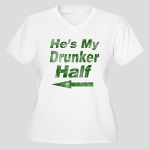 Vintage hes my drunker Plus Size T-Shirt