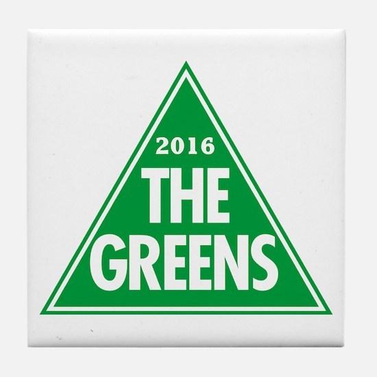 Greens 2016 Tile Coaster