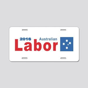 Labor 2016 Aluminum License Plate