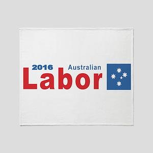 Labor 2016 Throw Blanket