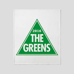 Greens 2016 Throw Blanket