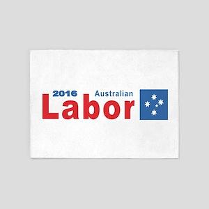 Labor 2016 5'x7'Area Rug