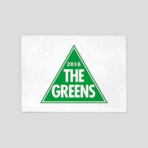 Greens 2016 5'x7'Area Rug