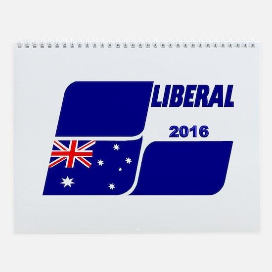 Liberals 2016 Wall Calendar