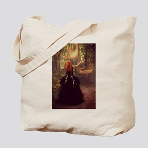 Red-Head Witch Tote Bag