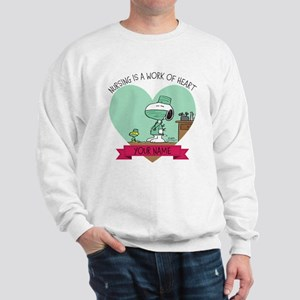 Snoopy Nursing - Personalized Sweatshirt