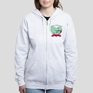 Snoopy Nursing - Personalized Women's Zip Hoodie