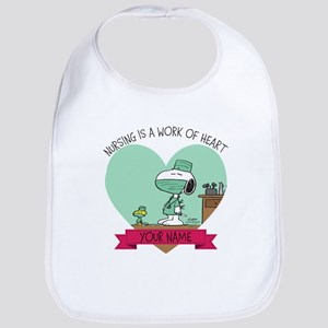 Snoopy Nursing - Personalized Bib