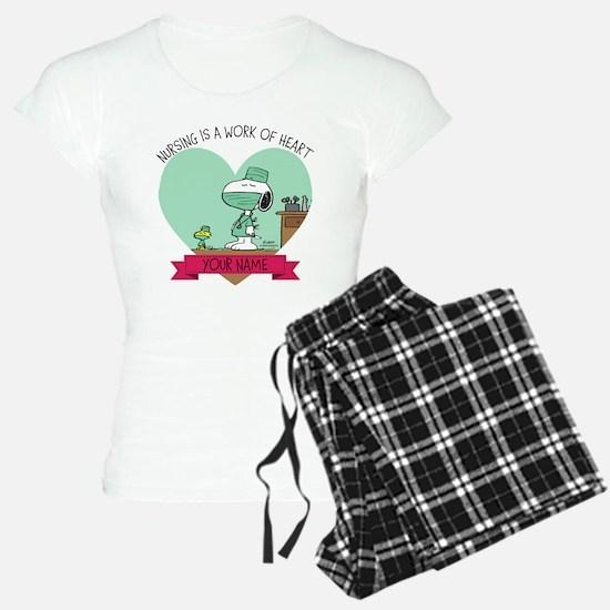 Snoopy Nursing - Personaliz pajamas