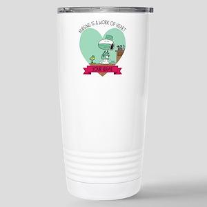 Snoopy Nursing - Person Stainless Steel Travel Mug