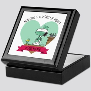 Snoopy Nursing - Personalized Keepsake Box