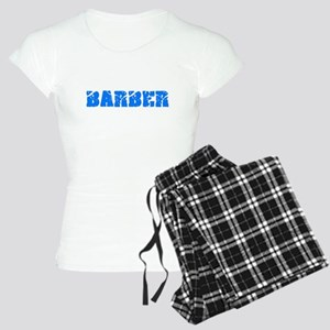 Barber Blue Bold Design Pajamas