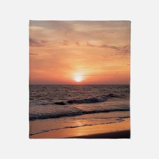 Unique Sunset Throw Blanket