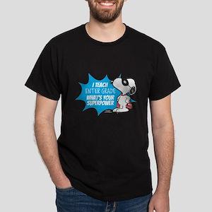 Snoopy Teacher - Personalized Dark T-Shirt