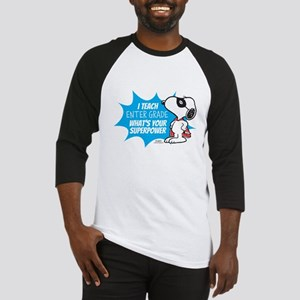 Snoopy Teacher - Personalized Baseball Jersey
