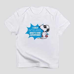 Snoopy Teacher - Personalized Infant T-Shirt