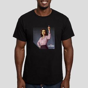 Agent Carter Halftone Men's Fitted T-Shirt (dark)
