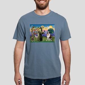 St. Francis & Saint Bernard Ash Grey T-Shirt
