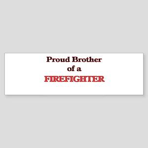 Hug a Firefighter Bumper Sticker