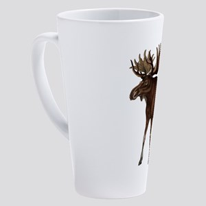 MOOSE MOVEMENTS 17 oz Latte Mug