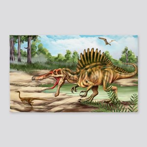 Dinosaur Species Area Rug