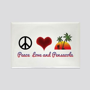 Peace, Love and Pensacola Magnets
