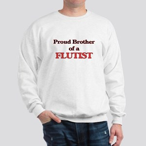 Proud Brother of a Flutist Sweatshirt