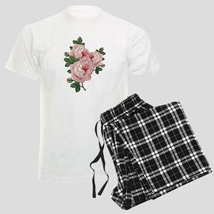Roses Are Gorgeous Men's Light Pajamas