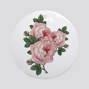 Roses are gorgeous Round Ornament