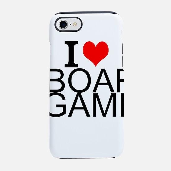I Love Board Games iPhone 8/7 Tough Case