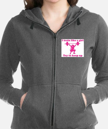 Train Like a Girl Sweatshirt