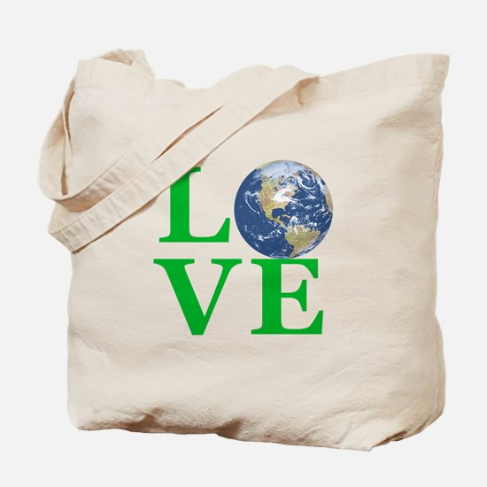 Love Earth Tote Bag