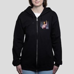 Agent Carter Halftone Women's Zip Hoodie