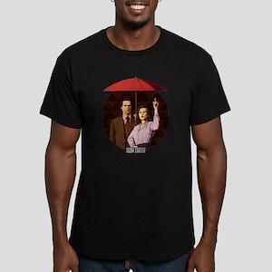 Agent Carter Umbrella Men's Fitted T-Shirt (dark)
