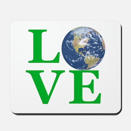 Love Earth Mousepad