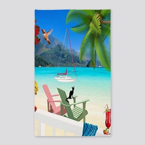 Seaside Vacation Area Rug